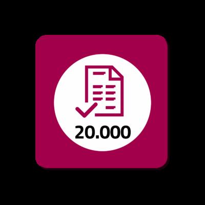 20.000 Fatture Elettroniche