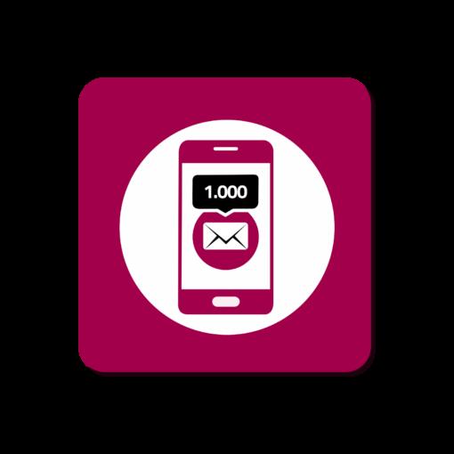 Ricarica 1.000 SMS