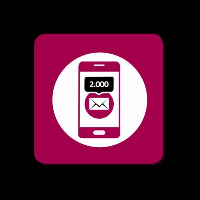 Ricarica 2.000 SMS